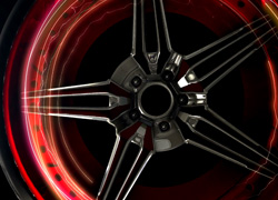Car Rims Free Video Background